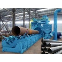 Pipe blasting machines