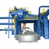Trolley type shot blasting machines