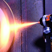 Combustion Wire Spray